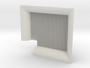 Spark Arrestor Sales Model -01 in White Natural Versatile Plastic