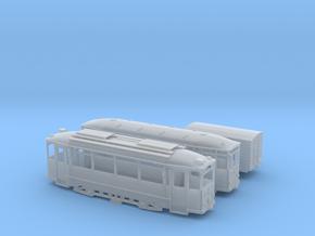 Hist. Straßenbahnzug Thüringer Waldbahn Spur N  in Smooth Fine Detail Plastic