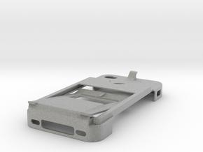 All-in-one Iphone 4 Case, Money clip, bottle opene in Metallic Plastic