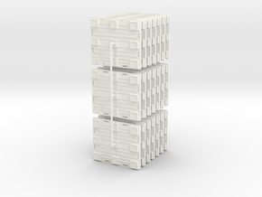 Plastic Pallet in White Strong & Flexible Polished