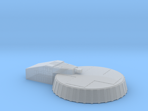 Micro Lunar Landing Pad in Frosted Ultra Detail