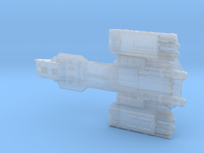 Deep Space Carrier in Smooth Fine Detail Plastic