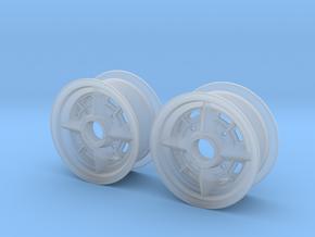 Rennsportfelge für den Trabi in 1:15 2stck in Smooth Fine Detail Plastic