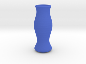 The Vase in Blue Processed Versatile Plastic