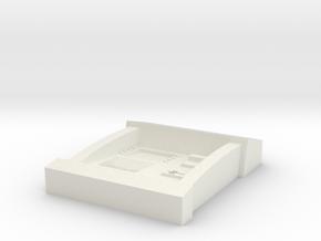 1:55 Scale ATM in White Natural Versatile Plastic