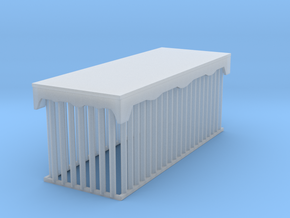 Animal Cage in Smooth Fine Detail Plastic