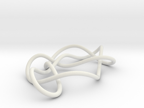 knot 8-13 100mm in White Natural Versatile Plastic