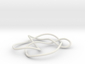 knot 7-6 100mm in White Strong & Flexible