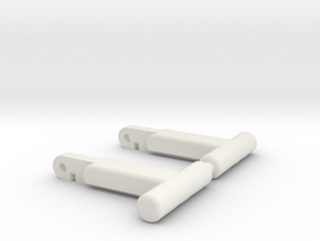 Replacement Romano/Assassin/Hook/Aveline Locks in White Natural Versatile Plastic