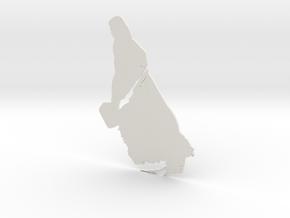 Thor artwork in White Natural Versatile Plastic