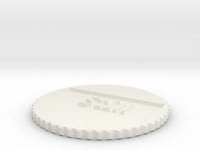 by kelecrea, engraved:     StIll in White Natural Versatile Plastic