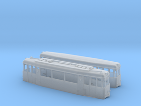 Gotha T2/B2-62 tram set (two direction) (1:160) in Smooth Fine Detail Plastic