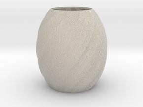 Vase Seven in Natural Sandstone