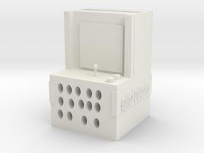 plastics phone arcade game speaker in White Natural Versatile Plastic