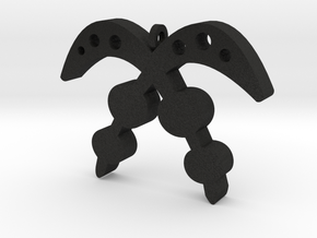 AKOFENA in Black Acrylic