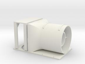 25mm EDF Micro Hawk fan assembly in White Natural Versatile Plastic