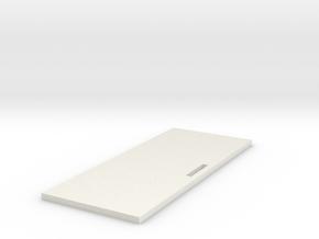 Bow Bulkhead in White Natural Versatile Plastic