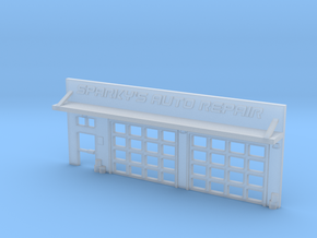 6mm Facade - Auto Shop in Smooth Fine Detail Plastic