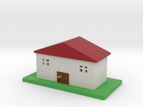 house model  smaller in Full Color Sandstone