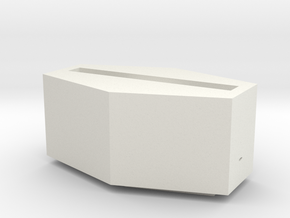 the monster mash coffin Iphone speaker in White Natural Versatile Plastic