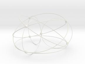 Fano Matroid in White Natural Versatile Plastic