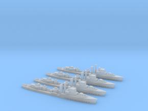 Adrias (Hunt III class) 1/2400 x4 in Smooth Fine Detail Plastic