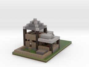 House Flipped in Full Color Sandstone