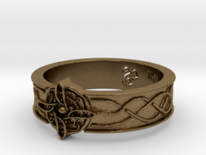 Ring of Mara Size 10.25 in Natural Bronze