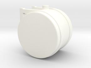 1/50th Scale 35 Gallon Diesel Fuel, Hydraulic oil  in White Processed Versatile Plastic