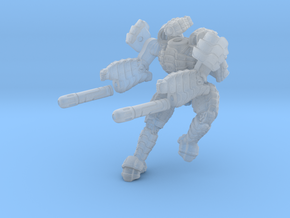 Mech suit with twin weapons. (6) in Frosted Ultra Detail