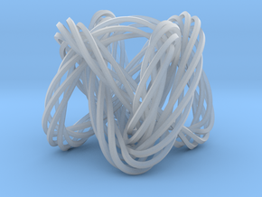 Knot, Knot.  Who's There?  Lissajous knot. in Smooth Fine Detail Plastic