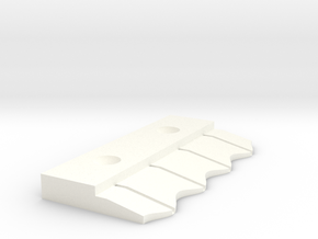 Bare Connector for Bare conductive paint in White Processed Versatile Plastic