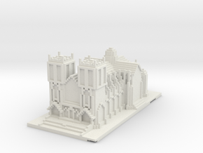 cathedral wrl in White Natural Versatile Plastic