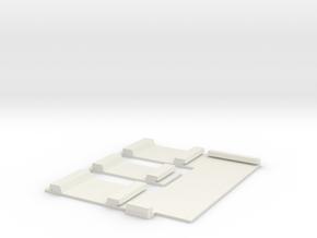 Bodenplatte für Märklin M-Gleis Signale in White Natural Versatile Plastic