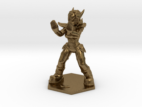 1:72 Helja, Dwarven Dracomancer,  in Natural Bronze