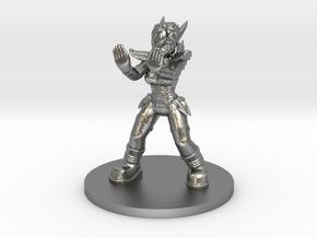 1:54/D&D Helja, Dwarven Dracomancer,  in Natural Silver