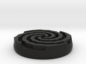 vortex sigil in Black Strong & Flexible