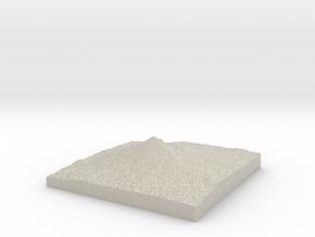 Model of Mount McLoughlin in Natural Sandstone