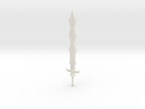 Sword of Demise - Legend of Zelda: Skyward Sword in White Natural Versatile Plastic