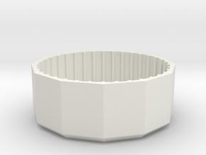 milk bottle lid opener in White Natural Versatile Plastic