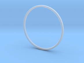 Bangle1 in Smooth Fine Detail Plastic