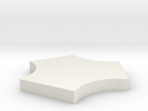 Intersection 90mm in White Strong & Flexible