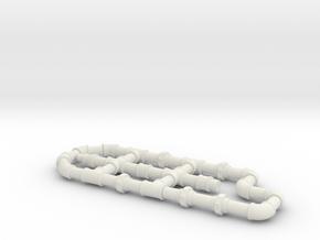 2  fittings in White Natural Versatile Plastic