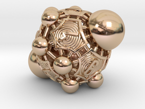Nucleus D10 in 14k Rose Gold