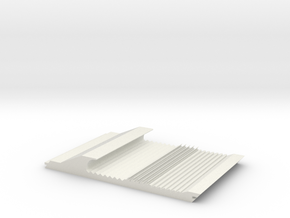 Sluice in White Natural Versatile Plastic