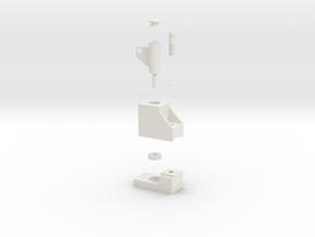 LORENZO stl in White Natural Versatile Plastic