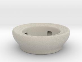 Fake Bowl  in Natural Sandstone