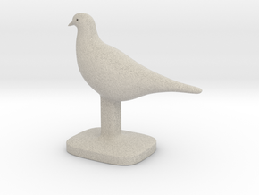 Pigeon Bird in Natural Sandstone