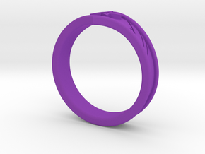 WW Tiara Ring Sz 11 in Purple Strong & Flexible Polished
