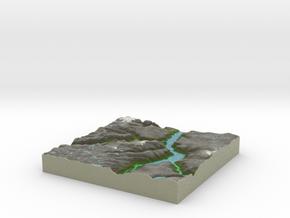 Terrafab generated model Sun Mar 16 2014 15:42:12  in Full Color Sandstone